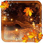 Autumn Twinkle Lights live wallpaper icon