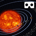 Solar Space Exploration VR Virtual Reality icon