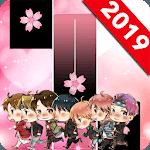 BTS Pink Piano Tiles APK icon