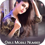 Real girls mobile number for whatsapp prank icon