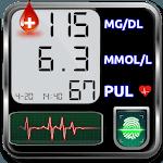 Blood Sugar Tracker : Glucose Test Calculator App icon
