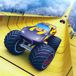 Mega Ramp Monster Truck Racing icon