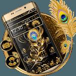 Black Golden Feather Theme icon