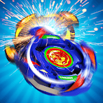 Beyblade spin tops hand spinner toys icon