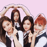 Black Pink Alarm Wallpaper icon