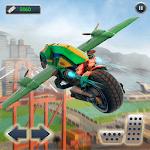 Ultimate Flying Bike Racing Stunts-City Moto Drive icon