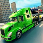 Trailer Transport Car Truck Driver icon
