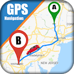 GPS Maps, Directions 2019 - GPS Driving Navigation icon