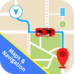 Car Navigation & Traffic Voice Directions Maps icon