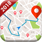GPS Satellite Route Map Direction - Live Direction icon