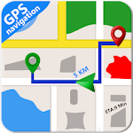 GPS Maps Free Navigation & Route Planner icon