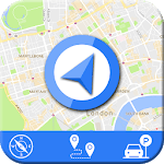 Live GPS Maps & Navigation 2019: GPS Driving Guide icon