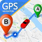 GPS Route Finder App: Directions, Navigation Maps icon
