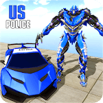 US Robot Police Car Transforming 19 icon