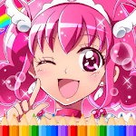 How To Color Pretty Cure icon
