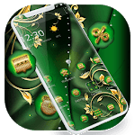 Green Gold Luxury Business Theme APK icon