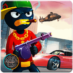 Grand StickMan Vegas Mafia Crime theft car driver APK icon