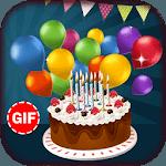 Birthday Gif Stickers icon