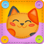 Button Cat: match 3 cute cat puzzle games APK icon