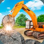 Heavy Excavator  Stone Cutter Simulator icon