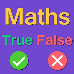 Kids True False - Math icon