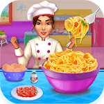 Make pasta cooking kitchen icon
