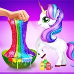 Rainbow Unicorn Slime Maker - Jelly Toy Fun icon