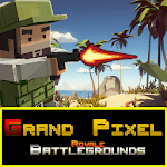 Grand Pixel Royale Battlegrounds Mobile Battle 3D icon