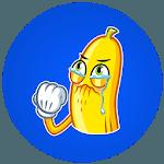Naughty Banana Stickers for WhatsApp icon