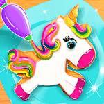 Unicorn Cookie Baker Kitchen icon