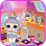 LOL Surprise Game Doll House Cleaning icon