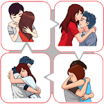 Hug Day Love Stickers icon