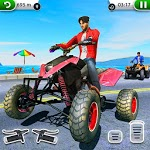 ATV City Traffic Racing Games 2019 icon