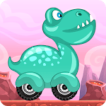 Racing game for Kids - Beepzz Dinosaur icon