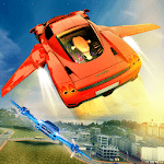 Flying Car Racing Adventure Game icon