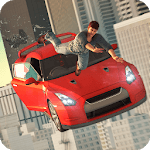 City Rooftop Stunt Car Racing Ramps icon