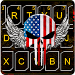 American Skull Mask Keyboard Theme icon
