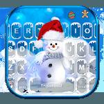Blue Christmas1 Keyboard Theme icon