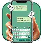 SNS Keyboard - Emoji keyboard、QuickType、Swype fast APK icon