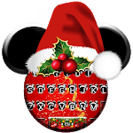 Christmas Minny Keyboard Theme icon