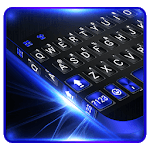Cool Black Plus Keyboard Theme APK icon