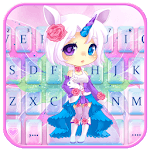 Cuteness Unicorn Fairy Keyboard Theme icon
