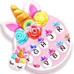 Flower Sweetie Unicorn Keyboard Theme icon
