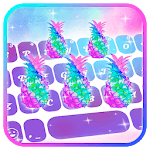 Galaxy Pineapple Keyboard Theme icon