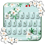 Girly Charming Floral Keyboard Theme icon