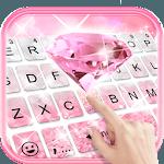 Glittering Pink Diamond Keyboard Theme icon