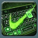 Green Neon Check Keyboard Theme icon