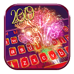 Happy New Year 2019 Keyboard Theme for pc icon
