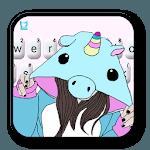 Hat Unicorn Girl Keyboard Theme icon