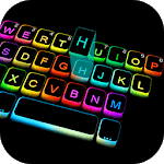 Led Colorful Keyboard Theme for pc icon